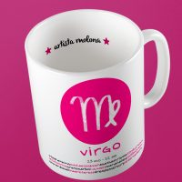 taza mug horoscopo virgo
